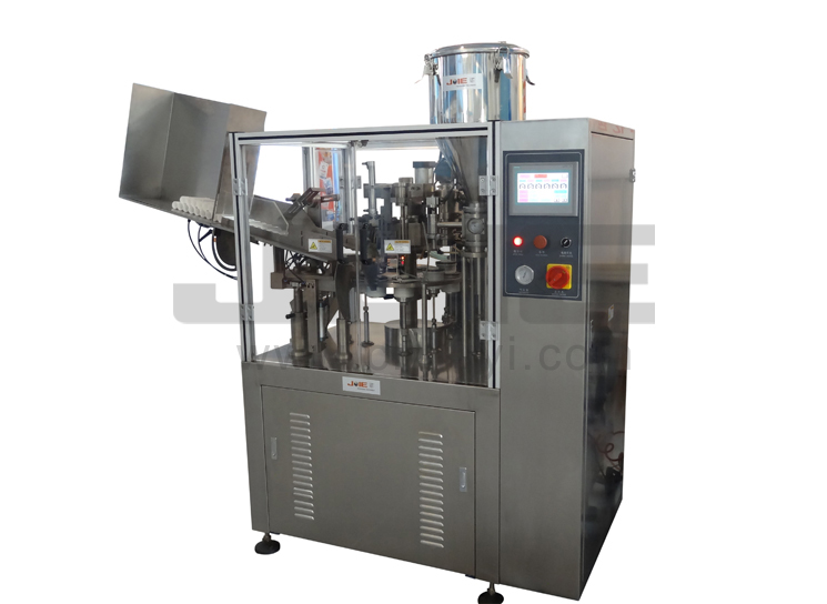 JEF-50 INTERNAL HEAT FULL-AUTOMATIC FLEXIBLE TUBE FILLING&SEALING MACHINE